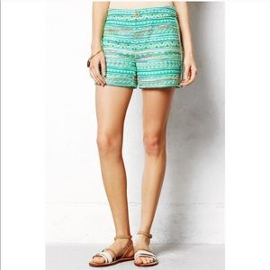 Elevenses for Anthropology Woven Shorts